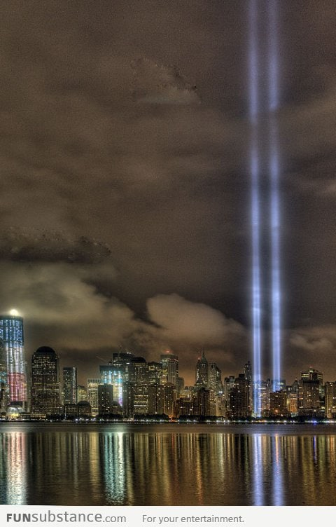 RIP 9/11 Victims: The Tribute in Light
