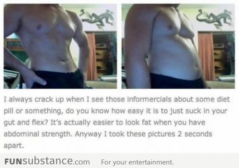 The power of flexing
