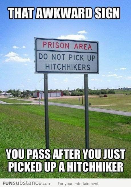 Prison area