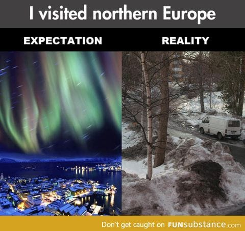 Northern europe expectations