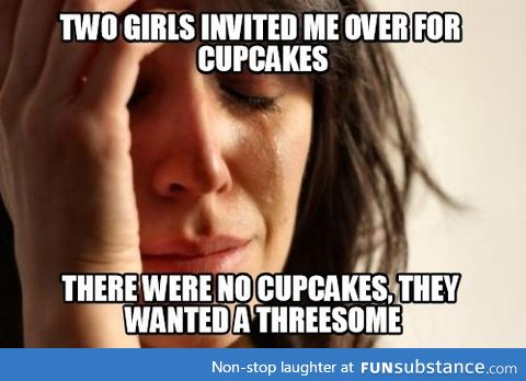 She usually makes awesome cupcakes though