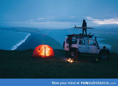 I wanna be on a camping trip like this one day