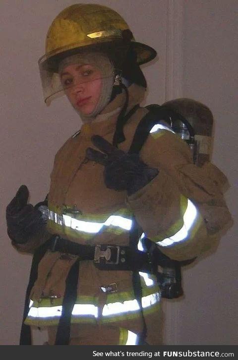Fire Academy selfie!