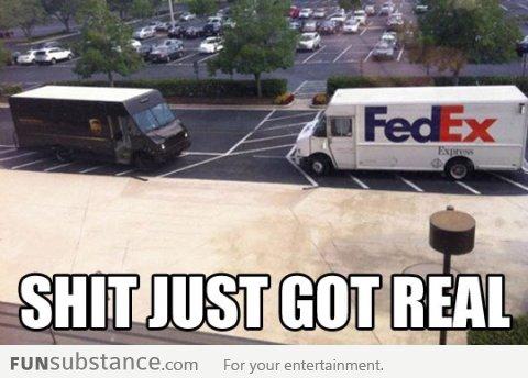 UPS vs Fedex