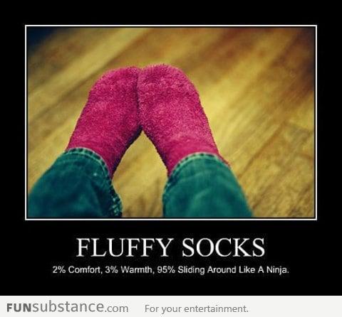 Use of Fluffy Socks