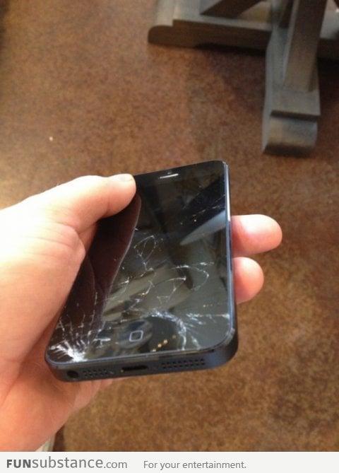 My poor new iPhone 5!! :(