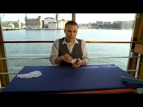 Awesome card trick tells us why Stockholm is the best city in the world