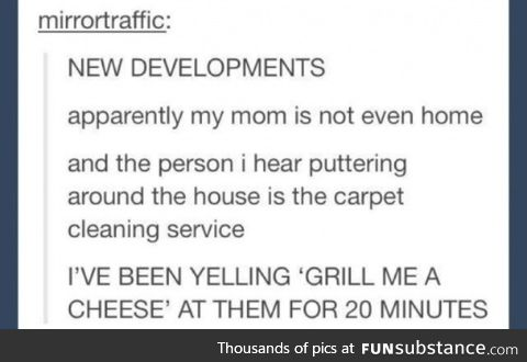 Grill me a cheese