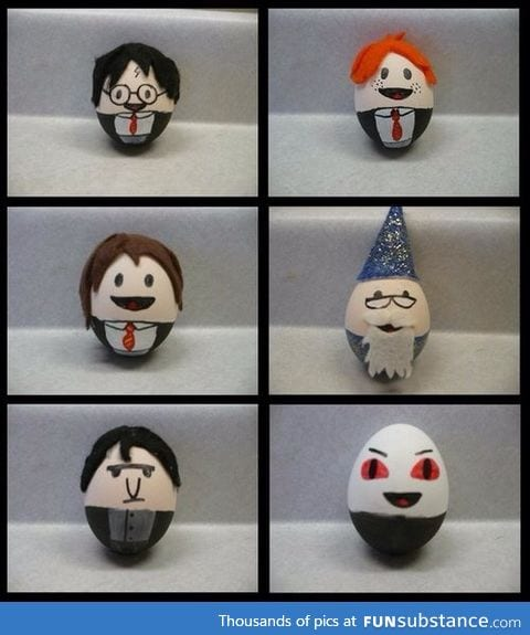 Happy Easter to all you harry potter fans