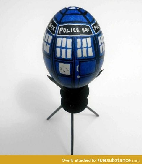 Happy Easter to all the whovians pt1