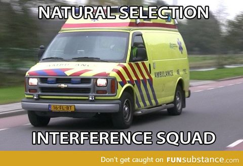 Natural selection interference