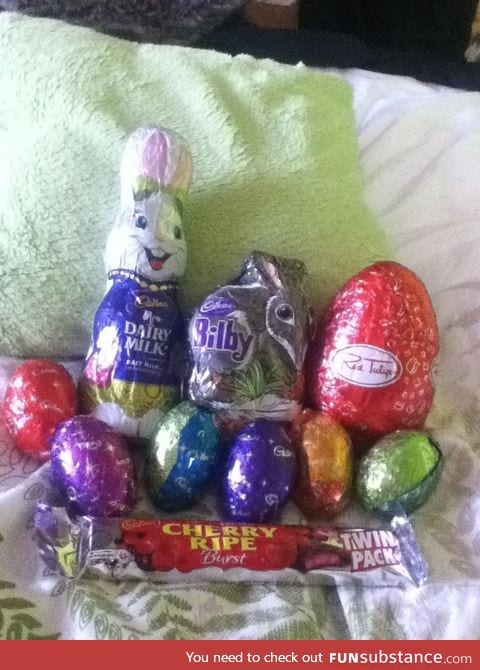 Happy Easter from Australia funsubstance :D