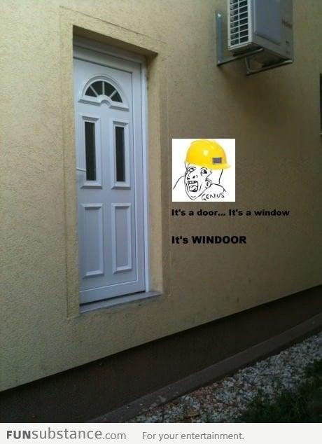 it's WINDOOR