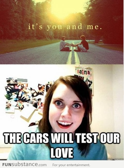 Overly Attached Girlfriend has a test for you