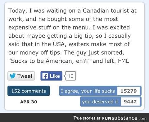A Canadian myth I say....