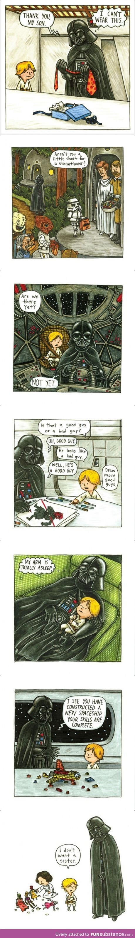 Some Darth Vader and Son! :D