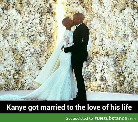 Congrats Kanye!