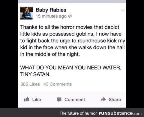Tiny Satan!