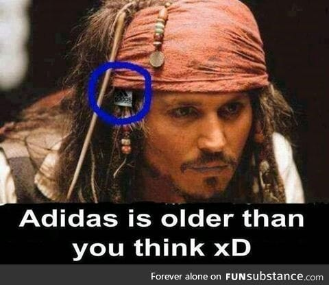 Adidas is older than I thought