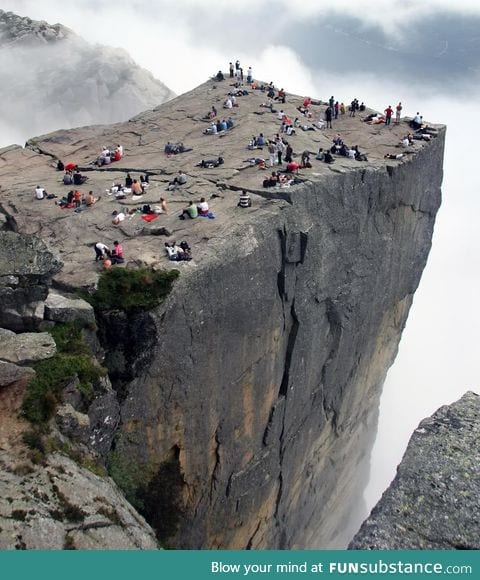 One of the most visited natural tourist attractions in Norway