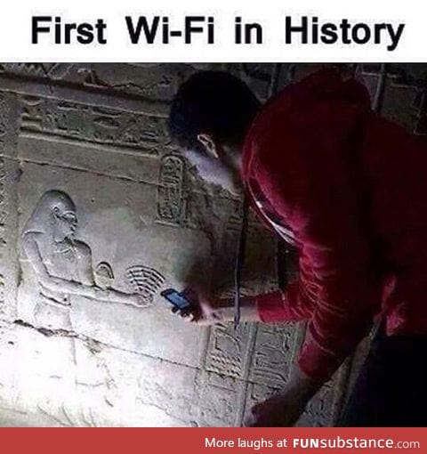 Ancient wifi hotspot