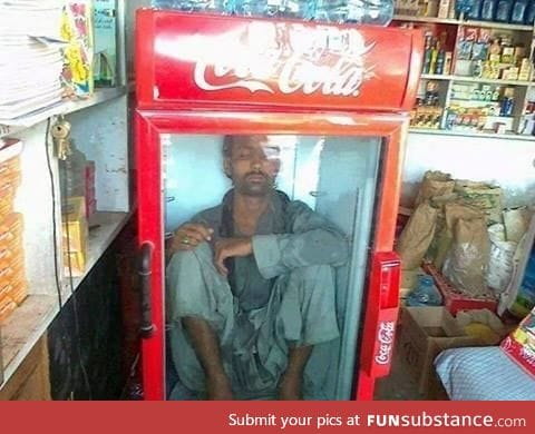 Meanwhile, when it hits 45 degrees Celsius in Pakistan