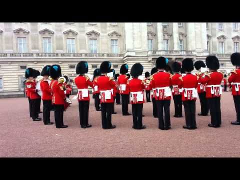 The Queens Guards at Buckingham Palace playing theme to Game of Thrones