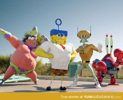 Spongebob SquarePants Movie 2 Promo Poster