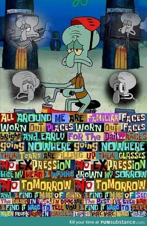 Squidward and Depression