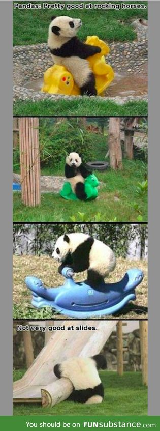 Pandas: Skills and Weaknesses