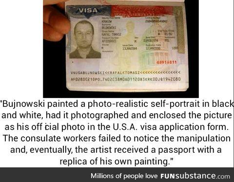 A true artist, he is