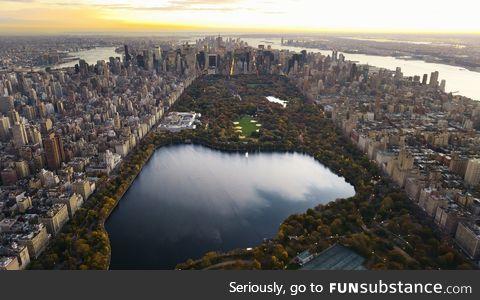 Sometimes I forget how huge Central Park is