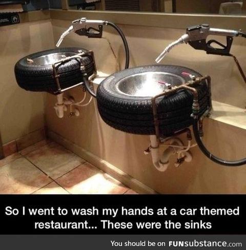 Tyre sinks