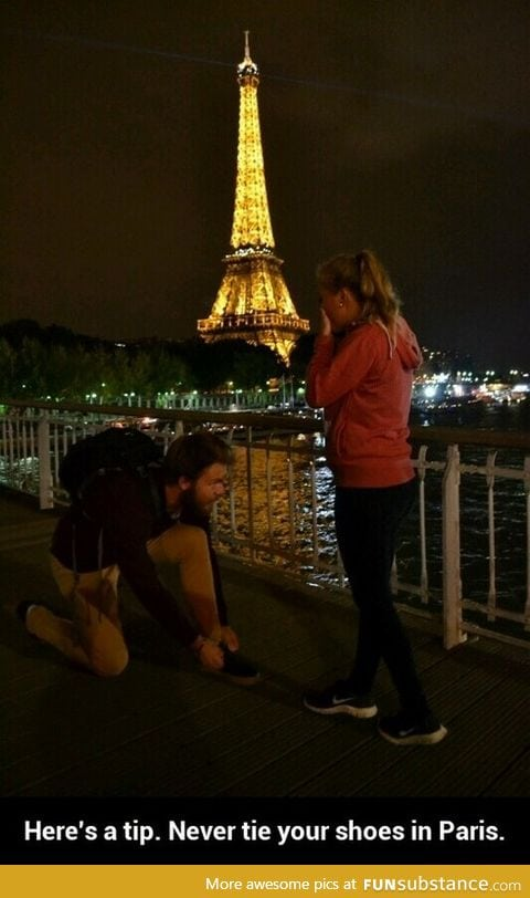 Oh my God! He's gonna propose