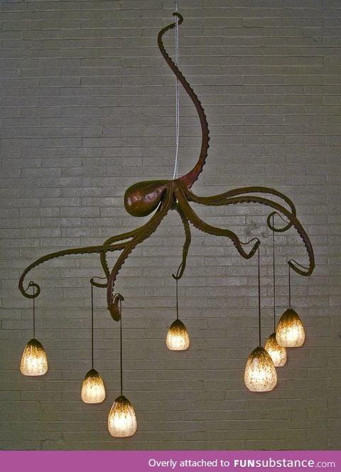 I heard you like Octopus lamps