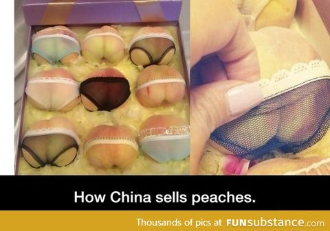 Sexy peaches in China