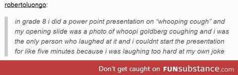 Whooping Goldberg