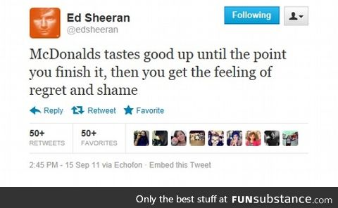 Ed Sheeran Is The King Of Twitter