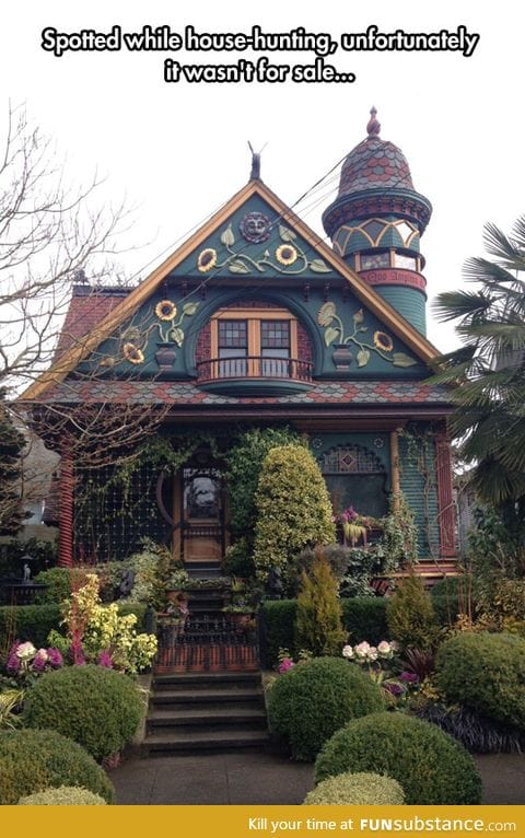 It's Like A Magical House From A Children's Book