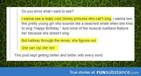 Make it so, Disney