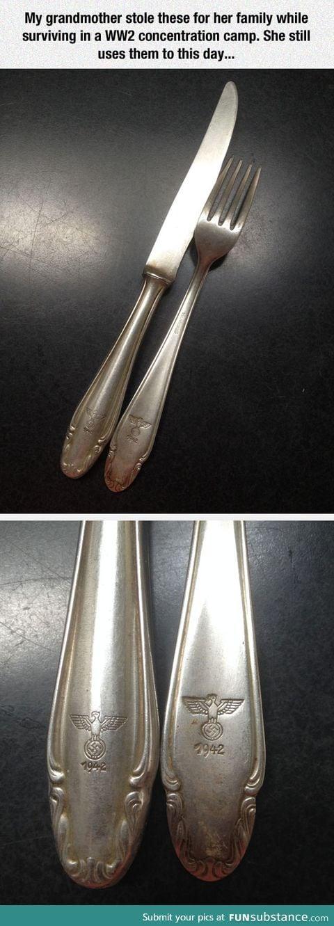 Pretty interesting silverware