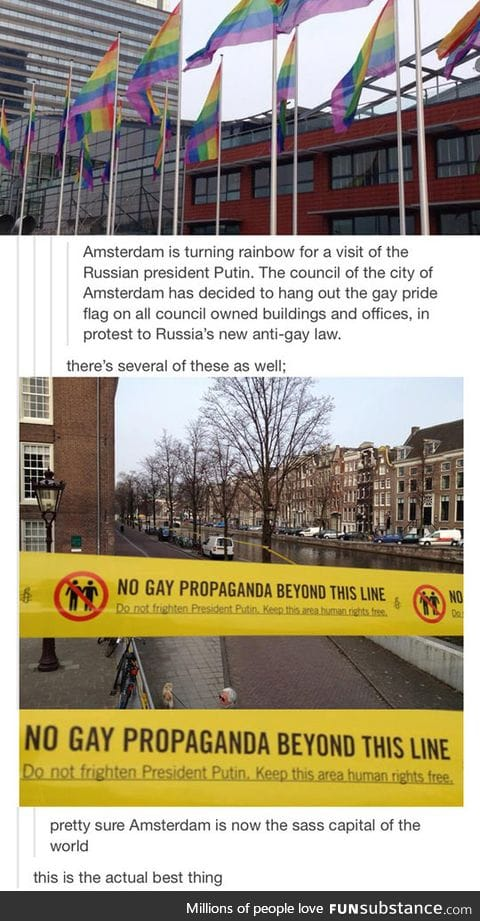This is why Amsterdam is the best