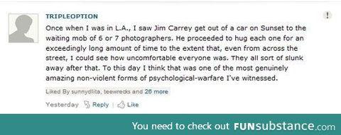 Jim Carrey is the man