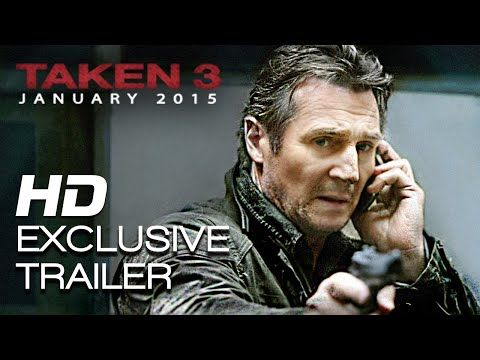 Taken 3 First Official Trailer - More badass than ever