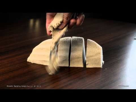 Kinetic sand is the coolest kind of sand ever