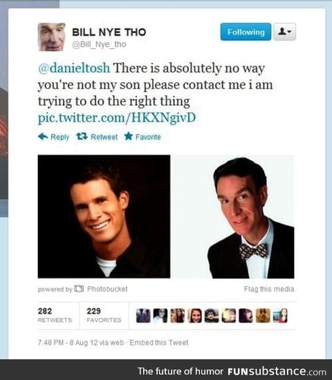 Bill Nye's son