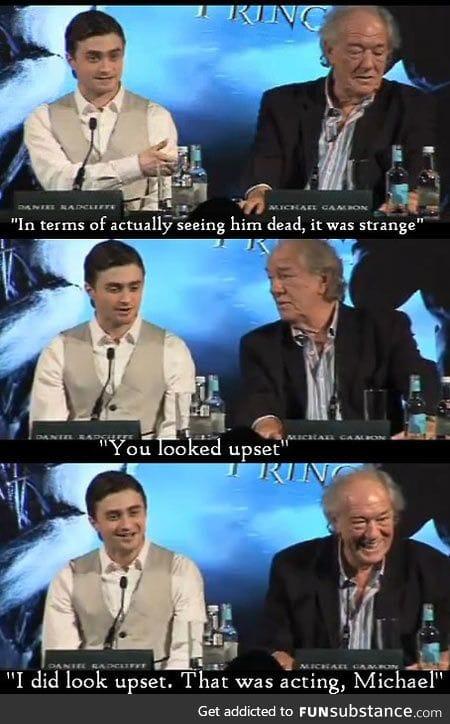 It was strange