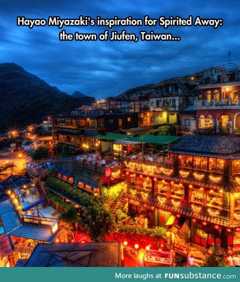 The town of jiufen is so dreamy