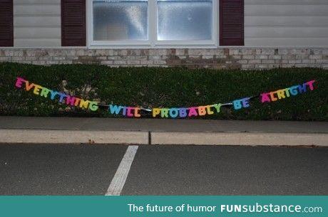 My optimism at its best