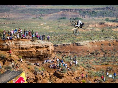 The biggest attempted front flip in mountain bike history